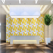Emboss effect interior natural granite wallpaper