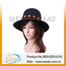 long brim felt women's wedding hats elegent wedding dress hats sale