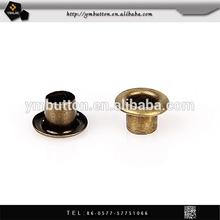China supplier Antique brass metal eyeelet for shoe