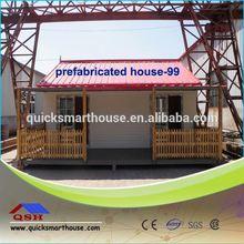 Prefabricada de fibra de vidrio de casas y villas