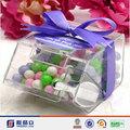 Probabilidade bonita casa em forma de doces acrílico bin, distribuidor acrílico doces, acrílico caixa de chocolate