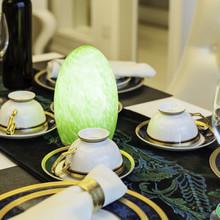 2014 moderna decoración para el hogar de lujo luces de la casa del hogar portátil