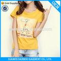 slim fit algodão elastano feminina tshirts moda novo estilo custom impressão design
