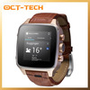 Luxury Smart Android Watch phone dual core MTK6572,Fashion design 5.0M gps WIFI Watch mobile phone