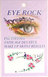 pretty flower eye shadow sticker/temporary tattoo sticker/ tattoo sticker
