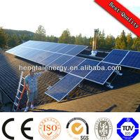2014 high efficiency 5kw on grid solar system