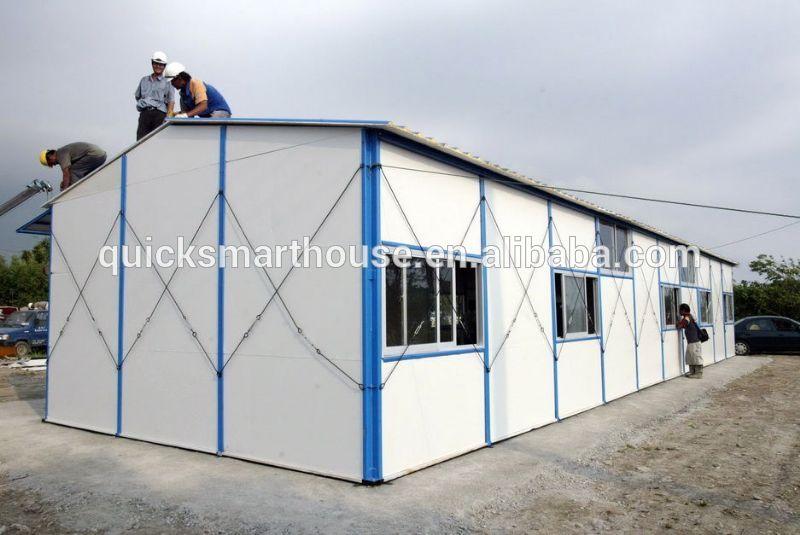 Portable cabin labor camp prefabricated modular house ksa - Mobil home economicos ...