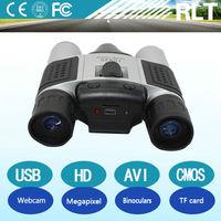 HD CMOS 1280*960 1.3 megapixels 30fps interface PC webcam TF card binoculars digital wireless hidden camera