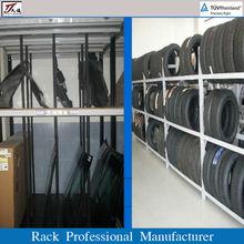 electrostatic powder coated auto parts rack