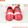 2014 mejor venta de cuero de gamuza color del vestido del bebé de los zapatos del RC BS15