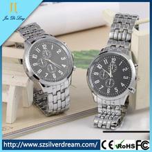 Fashion quartz men watch interchangeable straps watch gift set