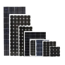 solar panel for house 100w 150w 200w 250w 300w 18v 36v with CE certification factory direct