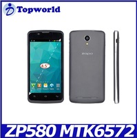Wholesale 4.5 Inch Screen MTK6572 Dual Core 512MB 4GB Dual Sim 3G 2100MHz Android Mobile Phone ZOPO ZP580