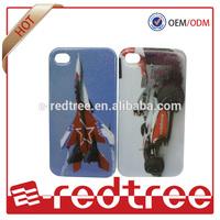 Airplane design flash tpu case cover skin for iphone 5
