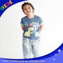 100% cotton fashion children t shirt 2013 kid wear for summer