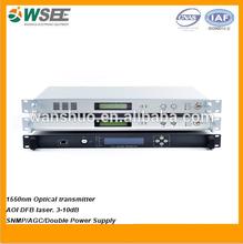 Directement 1550nm modulation fiber optique émetteur laser