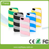 Double Color Silicone Case For Iphone 5S Phone Case Manufacturing