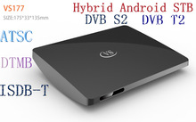 newest 4.2.2 OS dvb s2 android tv box Hybrid android stb