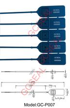 PP Material plastic bag security seal GC-P007