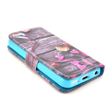 Luxury Genuine Cowhide full qwerty keyboard case for iphone 5/5s/5c