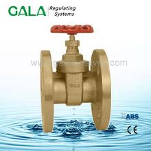 Brass water meter double flange gate valves ,brass stem gate valve