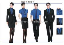 Custom formal hotel manager uniform