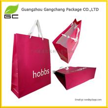 2014 Guangzhou cheap custom large paper shopping bags