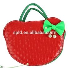 Hello Kitty Contrast color 2014 fashion yiwu ladies handbags manufacturers