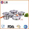 stainless steel saucepan sauce pot and turkey frying pan set