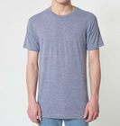 wholesale deep v neck tri-blend t shirts for men made in China