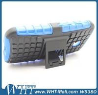 Wholesale Cell Phone Case Gel Silicon Case for Motorola Moto E Kickstand Style