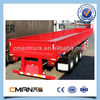 China new 3 axles small box trailers for sale with side panel price for sale
