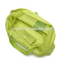 Flat foldable nylon bag high end nylon bag