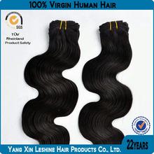 8a 7a 6a grade unprocessed black women body wave russian hair