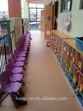 Kids school use vinyl flooring roll 2.0mm pvc flooring roll China supplier