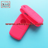 Nice touching ! OkeyTech 3 button VW silicone car key cover for VW Passat key