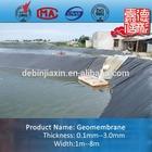 HDPE Geomembrane Pond Liner Plastic Sheet Polyethylene Film