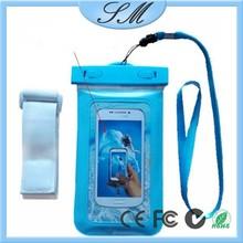 waterproof cell phone bag ,pvc phone waterproof case