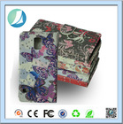 Bling Leather and pc material free sample cell phone case for samsung galaxy s5