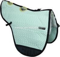 Sheepskin treeless saddle pad