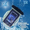 wholesale waterproof cell phone water protection cases with neck cord pvc waterproof case