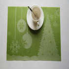 2014 new fashion china wholesale vinyl woven Eco-friendly custom placemats and coasters