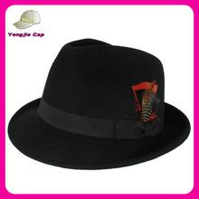 black fedora hat men fedora hats Wholesale