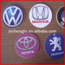 Custom car fresher with logo