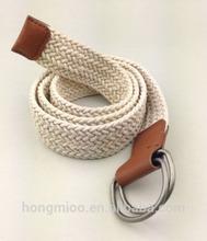 Nickel free eco-friendly kids fabric belts