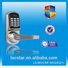 smart design Zinc alloy security door lock digital