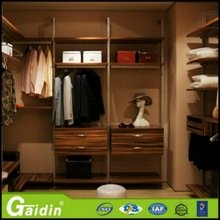 In stock and cheap cheap home bedroom furniture 2 tier metal wardrobe/2 door steel almirah locker cabinet