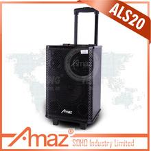 professional tasso speaker system with remote fm radio bluetooth usb sd card reader