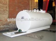 Cylinder shape Carbon Steel Above Ground Horizontal Oil Storage Tank