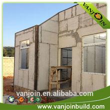 Fast construction lightweight prefabricated fireproof sandwich panel for prefab house